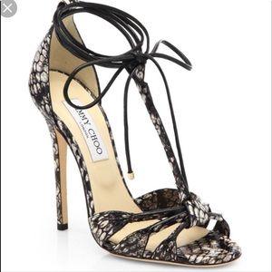 •JIMMY CHOO• T Strap Heels